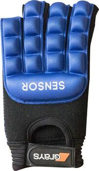Grays Sensor Pro Links hockeyhandschoen maat XXS Heren Blauw