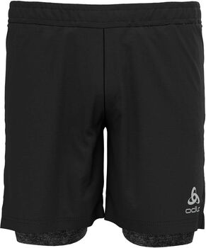 Odlo Run Easy 7 INCH 2-in-1 short Heren Grijs