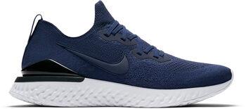 Nike Epic React Flyknit 2 hardloopschoenen Heren Blauw