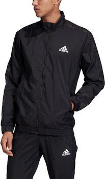 adidas Favorites Graphic Trainingsjack Heren Zwart