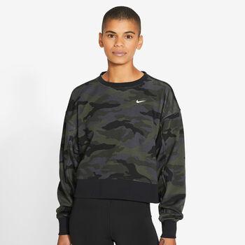 Nike Dri-FIT Get Fit shirt Dames Grijs