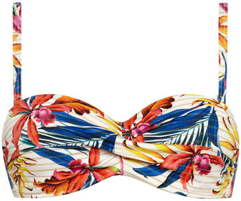 Cyell Bandeau bikinitop Dames Wit