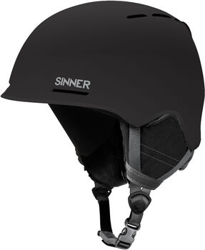 Sinner Fortune skihelm Heren Zwart