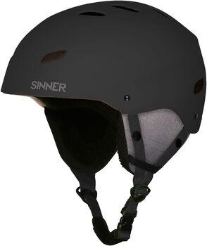 Sinner Bingham helm Zwart