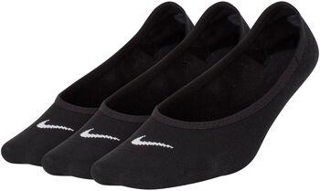 Nike Lightweight Footi 3-pack sokken Dames Zwart