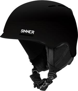 Sinner Fortune skihelm Heren Zwart
