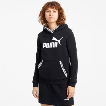 Puma Amplified hoodie Dames Zwart