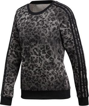 ADIDAS Essentials All Over Print shirt Dames Grijs