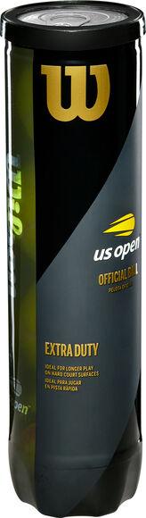 US Open Extra Duty 4-pack tennisballen