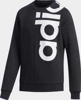 adidas Logo Crew kids sweater Jongens Zwart