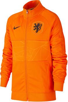 Nike Nederland 2020 I96 Anthem kids jack Jongens Oranje
