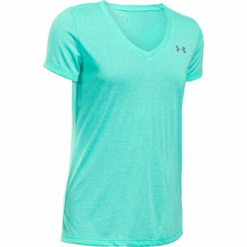 Under Armour Threadborne Train Twis shirt Dames Groen