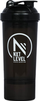NXT Level Smart Shaker 400 ml fles Zwart