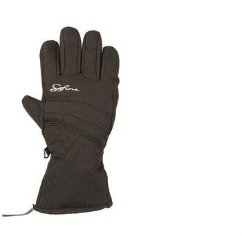 etirel Somaya handschoenen Heren Zwart