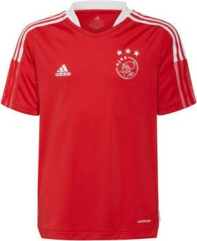 adidas Ajax Tiro kids trainingsshirt 21/22 Jongens Rood