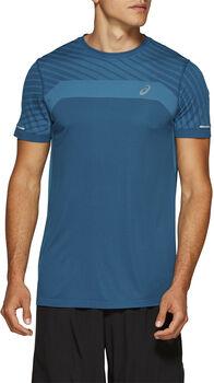 Asics Seamless Texture shirt Heren Groen