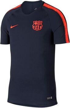 Nike FC Barcelona Breathe Squad shirt Heren Blauw