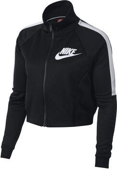Nike Sportswear N98 trainingsjack Dames Zwart