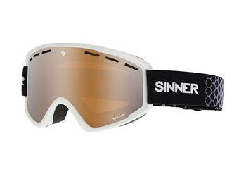 Sinner Bellevue skibril Wit