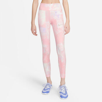 Nike One Printed kids legging Roze