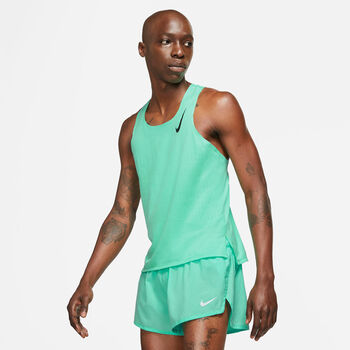 Nike Aeroswift Running top Heren Groen