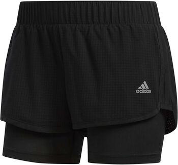 Adidas M10 2-in-1 short Dames Zwart
