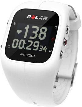 Polar A300 sporthorloge met hartslagmeter Wit