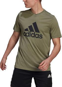 adidas AEROREADY Designed 2 Move Feelready Sport Logo T-shirt Heren Groen