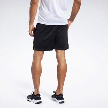Reebok Workout Ready short Heren Zwart