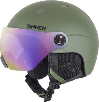 Sinner Titan Visor skihelm Heren Groen