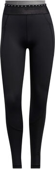 adidas Techfit Badge of Sport Lange Legging Dames Zwart