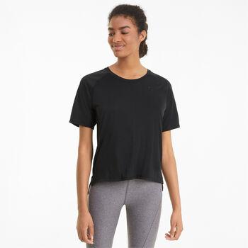 Puma Studio Graphene Relaxed shirt Dames Zwart