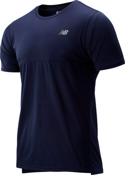 New Balance Accelerate Shortsleeve shirt Heren Blauw