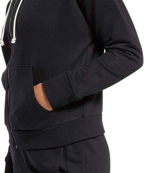 Textured Logo Fullzip hoodie