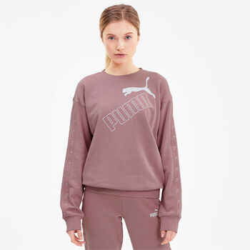 Puma Amplified crew Dames Roze