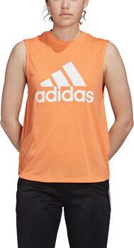 adidas Must Haves Badge of Sport top Dames Oranje