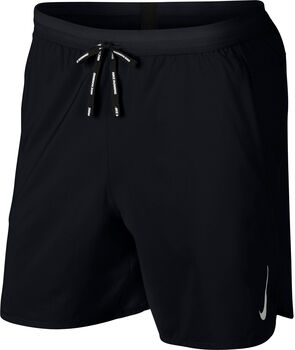 "Nike Dri-FIT Flex Stride 7"""" short Heren Zwart"