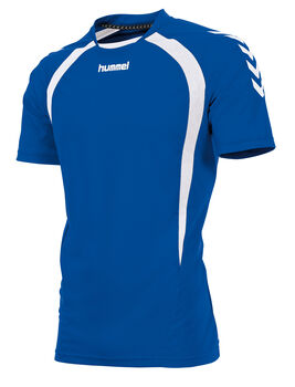 Hummel Team T-shirt Heren Blauw