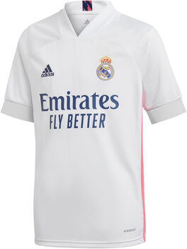 adidas Real Madrid kids thuisshirt 20/21  Jongens Wit