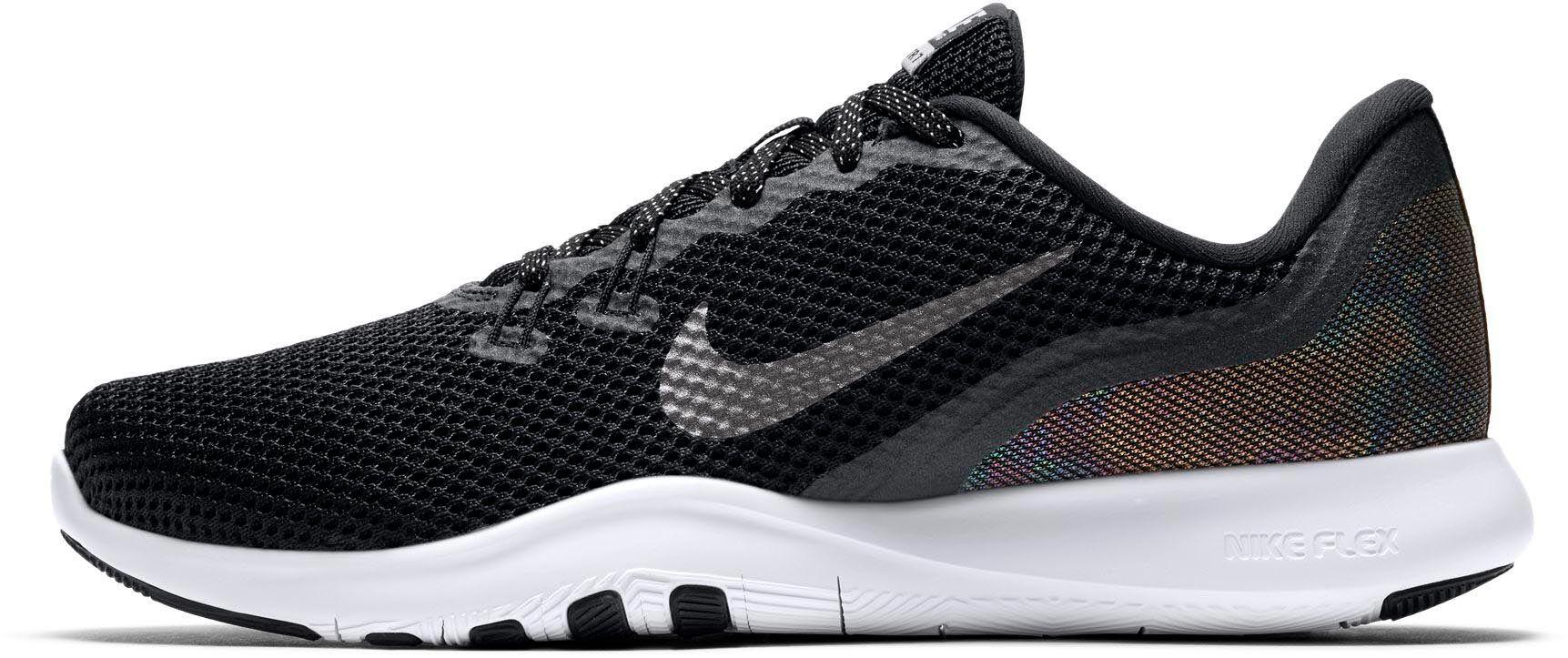Nike · Flex Trainer 7 Metallic fitness schoenen Dames