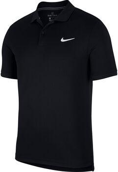 Nike Dry Polo Team shirt Heren Zwart