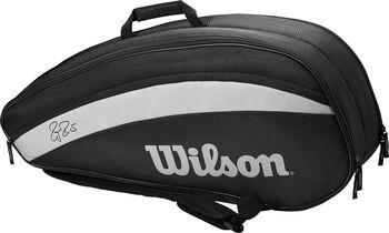 Wilson RF Team 6 Pack Tennistas Zwart