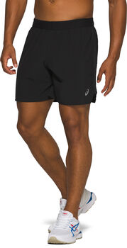 ASICS Road 7Inch short Heren Zwart