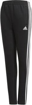 ADIDAS Essentials 3-Stripes Fleece jr broek  Jongens Zwart