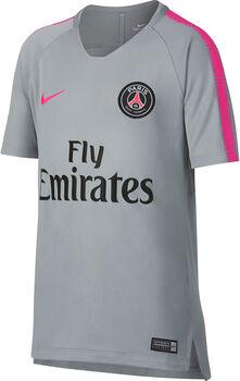Nike Breathe Paris Saint-Germain Squad shirt Jongens Zwart