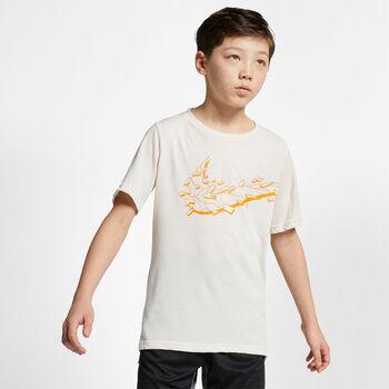 Nike Breathe Hyperdry shirt Jongens Bruin