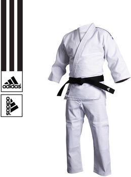 ADIDAS BOXING Training J500 judopak Heren Wit