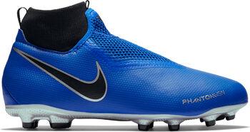 Nike Phantom Vision Academy DF FG/MG jr voetbalschoenen Blauw