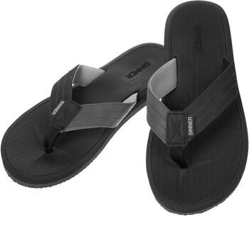 Sinner Lobos teenslippers Heren Zwart