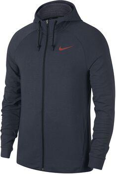 Nike Dry Training Hoodie Heren Blauw